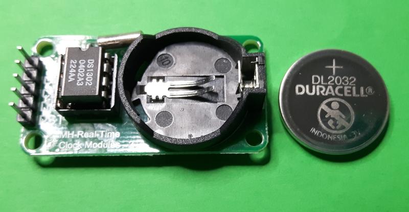 Modulo RTC DS 1302 - Uso con Arduino UNO