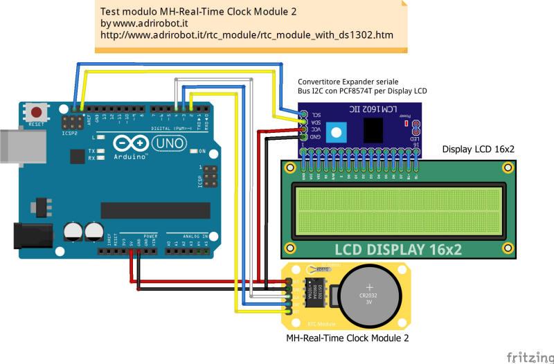 4x Modulo Seriale I2c l2c per display 16x2 e 20x4 per Arduino con solo 4 cavi
